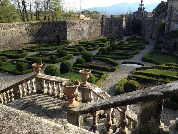 Villa Torrigiani, il giardino all'italiana