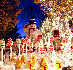 snowman & christmas land