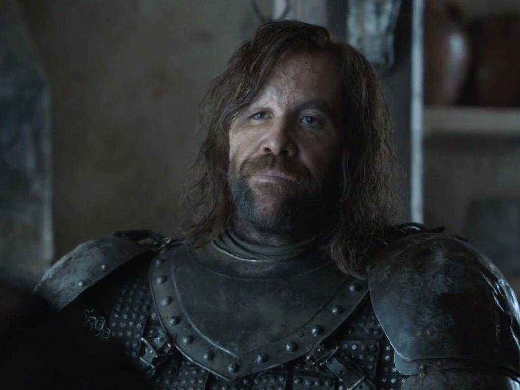 Sandor Clegane aka The Hound (Rory McCane)