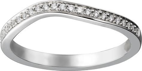 CRB4093000   Ballerine wedding band   Platinum, diamonds