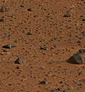 Mars. Photo credit: NASA-JPL-Cornell