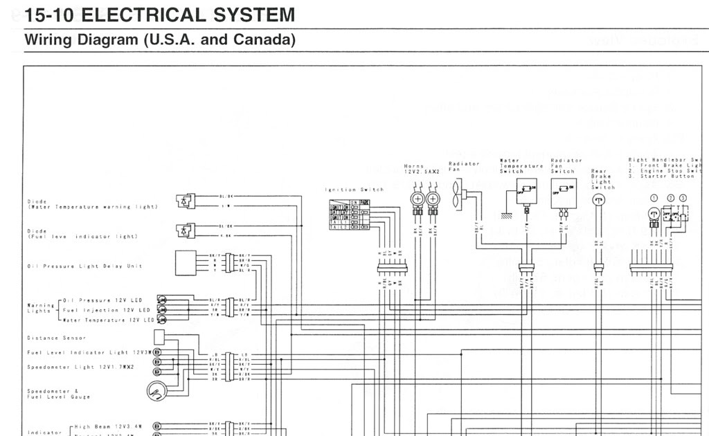 1998 Kawasaki Wiring Diagram Schematic - Cars Wiring ...