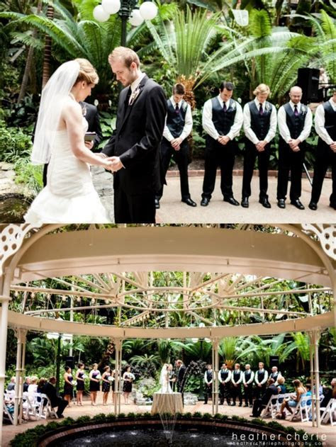 Atrium #garden #wedding ceremony at the Gaylord #Opryland
