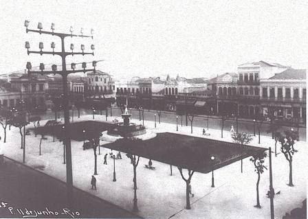 A Praça Onze na década de 1930
