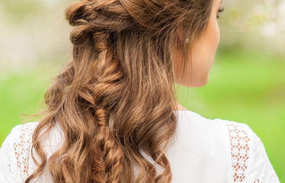 einfache dirndl frisuren mittellange haare