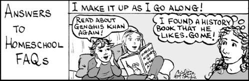 Home Spun comic strip #404
