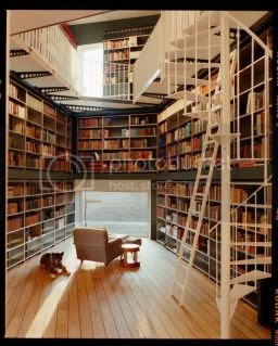 Friday Fixation: Home Libraries