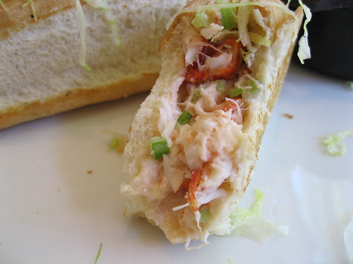 Lobster Roll at Frank and Alberts