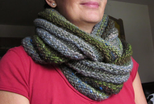 Noro Iro double cowl/snood