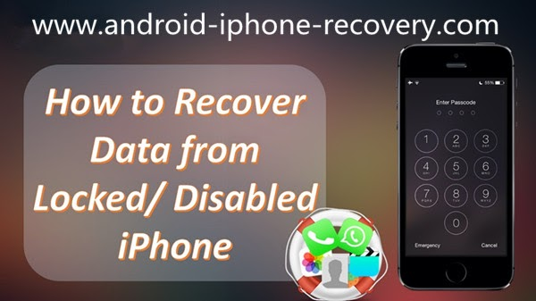 [Forget iPhone Screen Lock Password]Backup Data on Locked\/Disabled iPhone