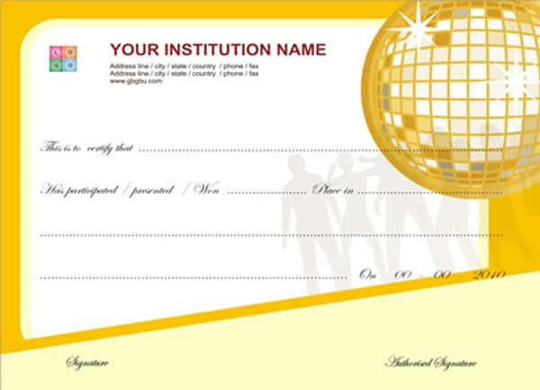 76 Certificate Template Psd Photoshop Free Download Psd Photoshop