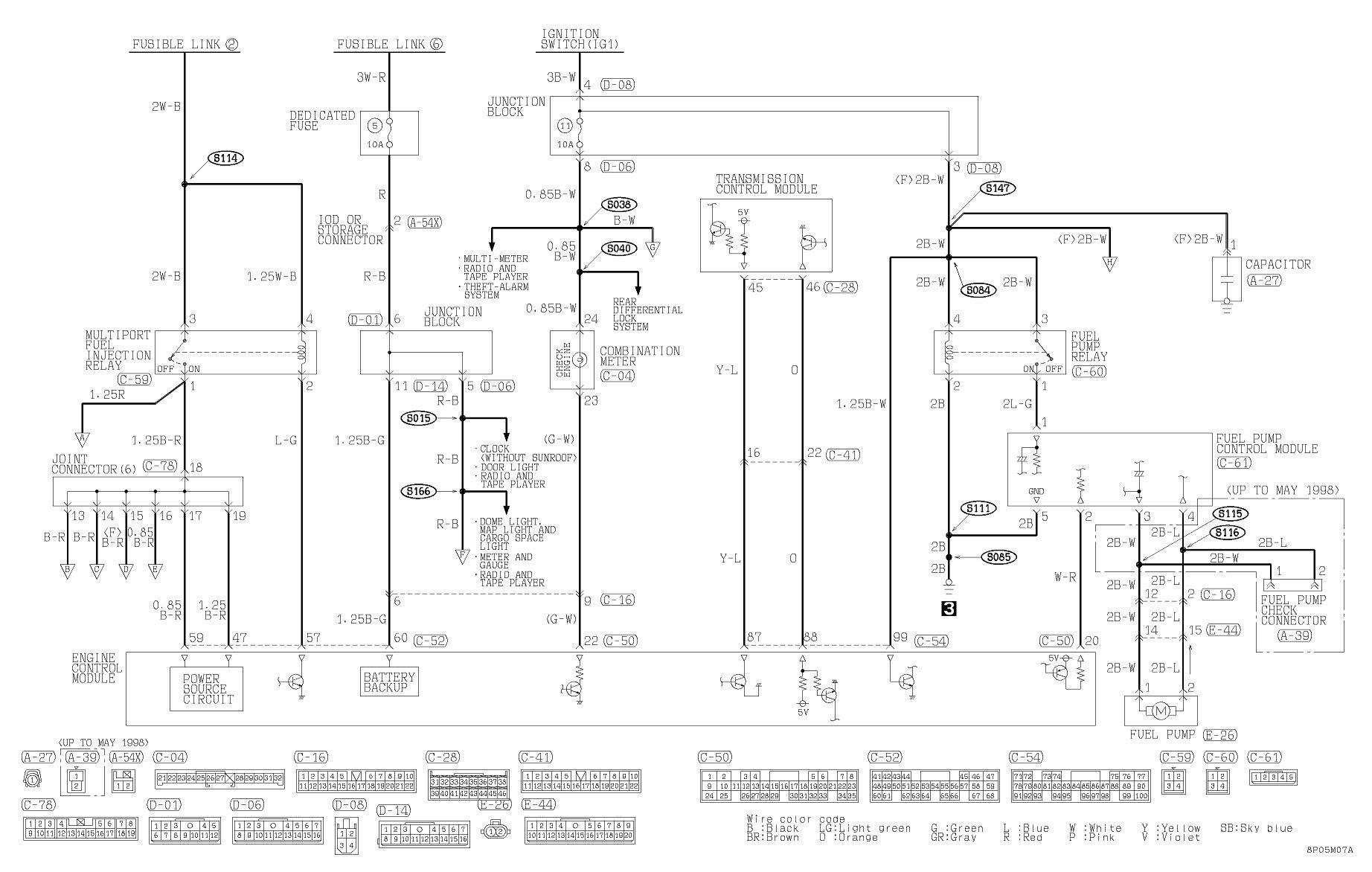 Mitsubishi Montero Sport Radio Wiring Diagram