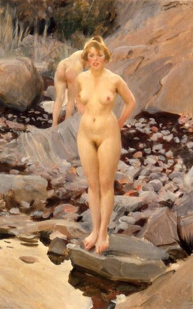 Helga (1917), oljemålning av Anders Zorn