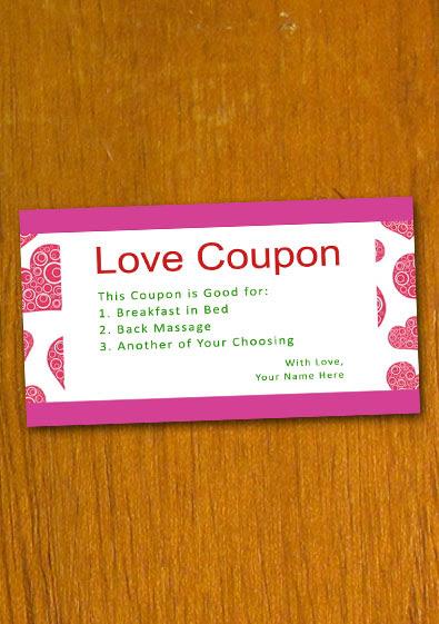 Coupon Templates  New Calendar Template Site