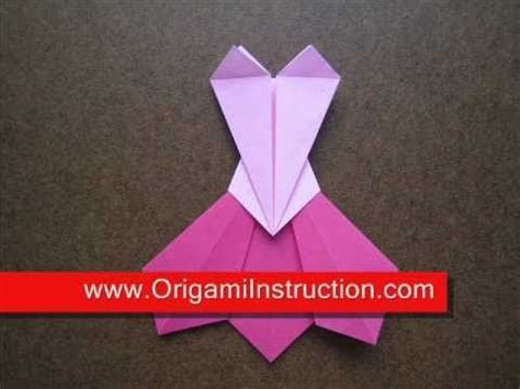 25  best ideas about Origami dress on Pinterest   How to