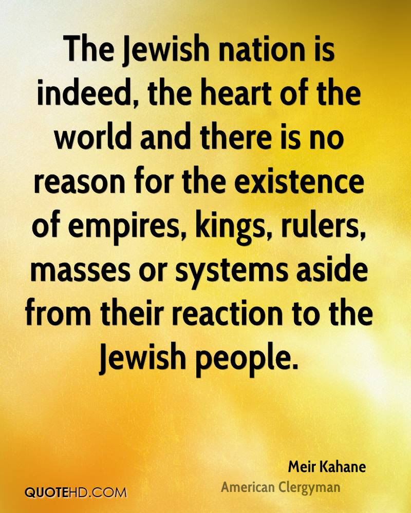 Meir Kahane Quotes Quotehd