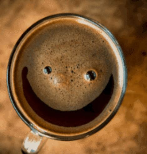A Smiling Coffee. Free Good Morning eCards, Greeting Cards