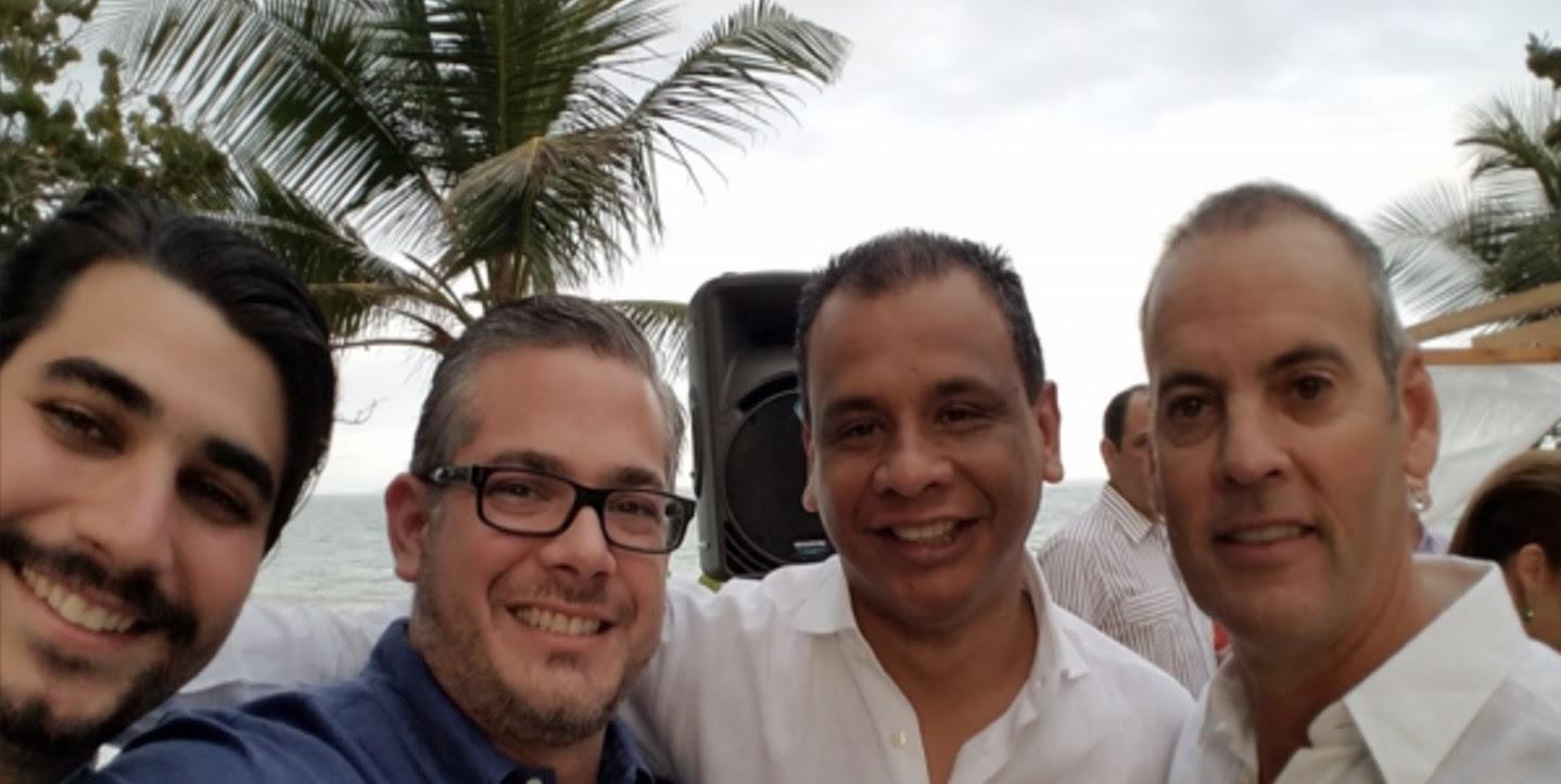 Arnaldo Anez Folla, Marcello Henriquez Maionica, Juan Bracamonte, Luis Alfredo Suarez Magual