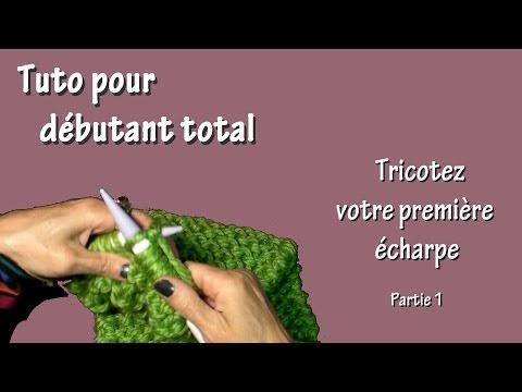 GONANISSIMA   Tuto tricot pour débutant total   Première écharpe (Part. I) f645936aa9a