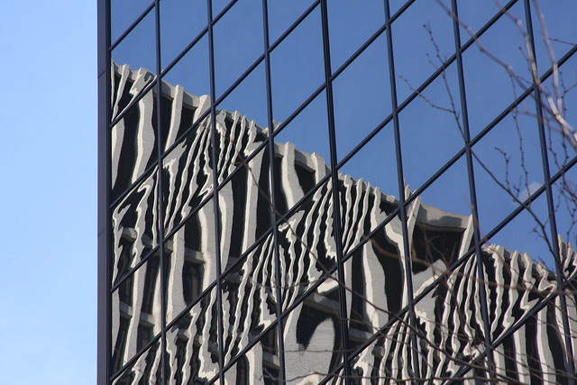 reflected, congress center