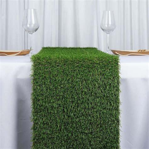 """12x108"""" Artificial Grass Table Runner   Tablecloths"""