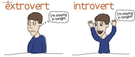 INTROVERT PERSON