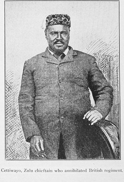File:Cettiwayo Zulu Chieftain annihilated British regiment.jpg