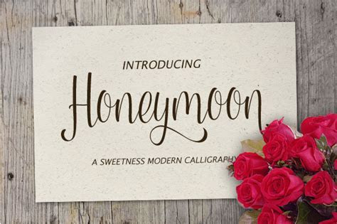 Honeymoon Script ~ Script Fonts on Creative Market