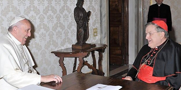 El Papa pidió al cardenal Burke que limpiara de masones la Orden de Malta e hiciera respetar la moral católica