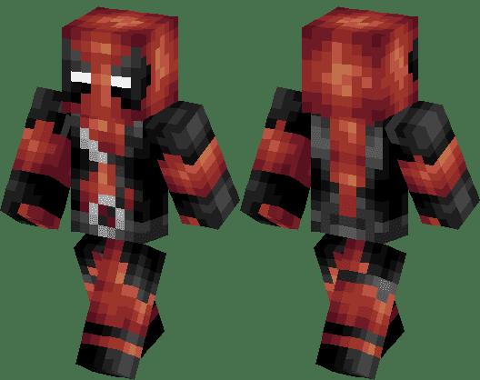 DEADPOOL the amazeing super hero (invincible) | Minecraft ...