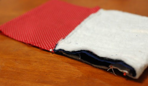 How to make a string quilt pouch 15