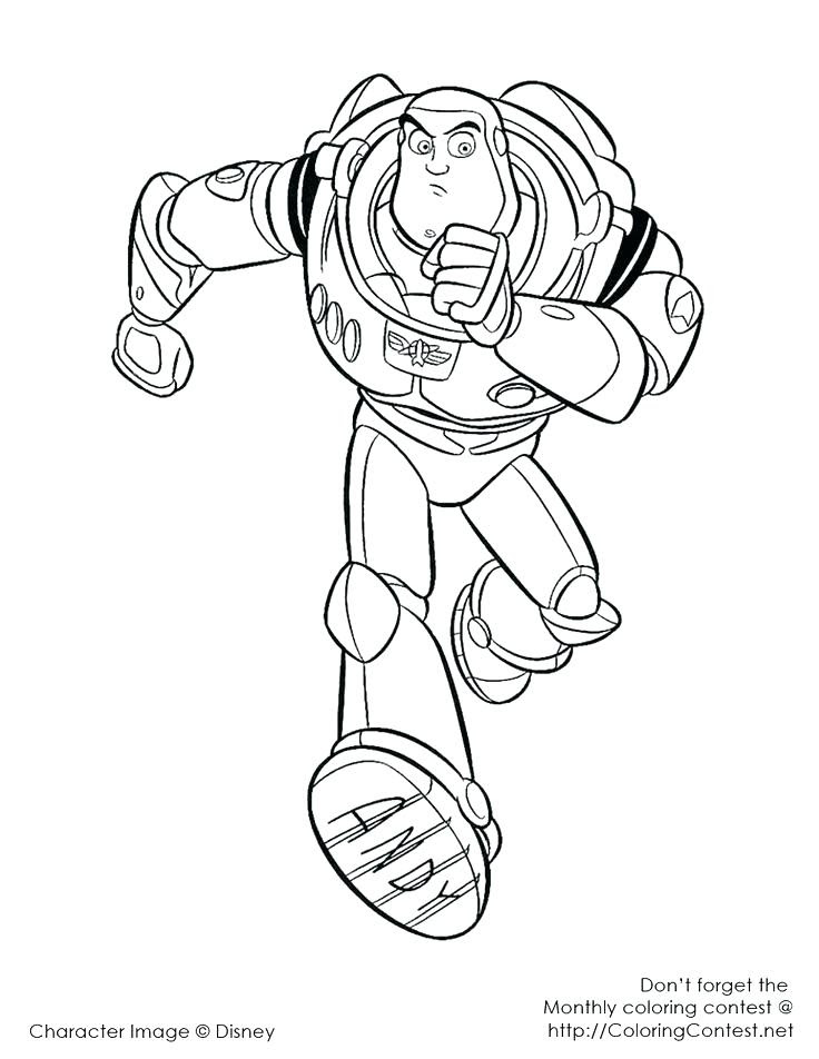 Buzz Lightyear Coloring Pages at GetColorings.com | Free ...