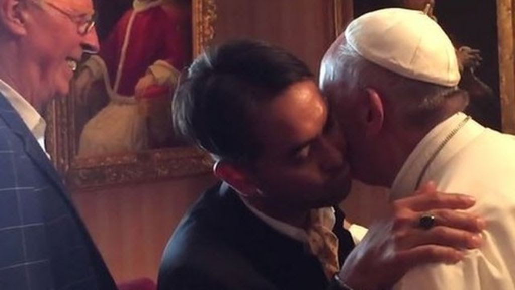 Image result for pope francis gay