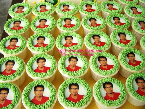 Cupcakes Edible Image