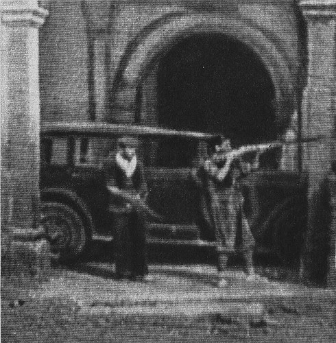 Milicianos en Toledo