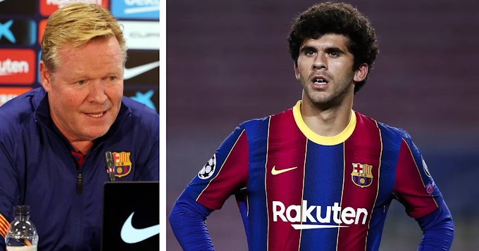 Ronald Koeman impressed with Carles Alena's improvement but refuses to rule out January move