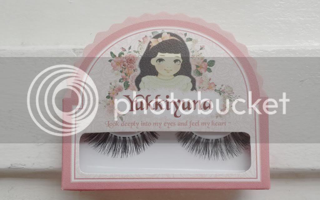 yukkiyuna fake eyelashes sweet blossom