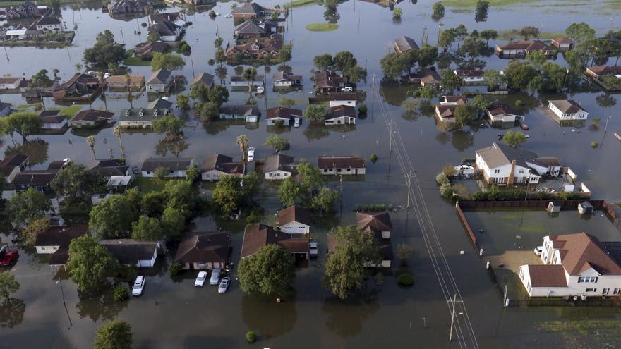 Port Arthur, Texas después del Huracán Harvey (1 de septiembre de 2017) | Foto: LM Otero GTRES