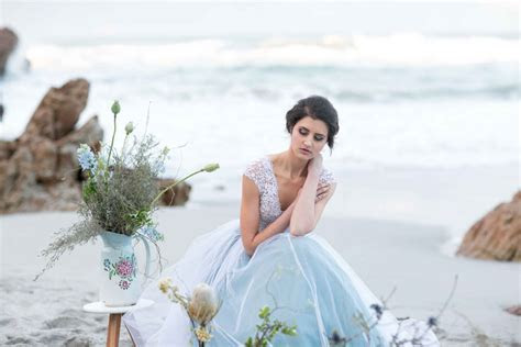 I'll Meet You Down By The Ocean: A Stunning Bridal Editorial!