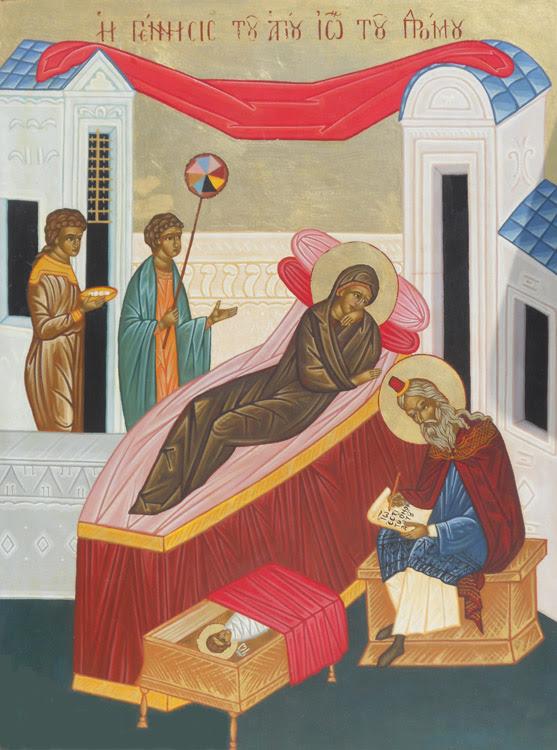 IMG NATIVITY of St John the Baptist, Prophet and Forerunner