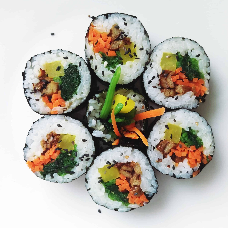 Korean food photo: Kimbap! - Maangchi.com