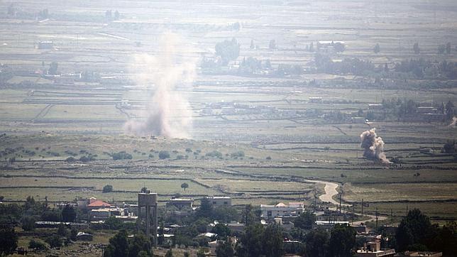 Secuestrados en los Altos del Golán cuatro «cascos azules» de la ONU