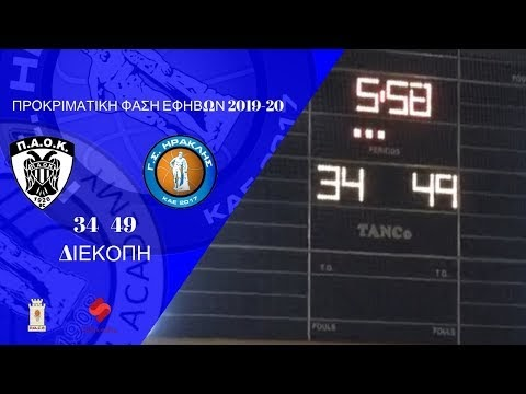 Στιγμιότυπα από τον αγώνα εφήβων ΠΑΟΚ-Ηρακλής και η στιγμή του τραυματισμού του Μαστροδημήτρη