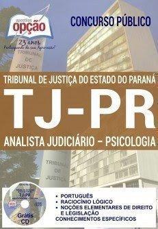 Apostila Concurso TJ-PR 2017 ANALISTA JUDICIÁRIO - PSICOLOGIA