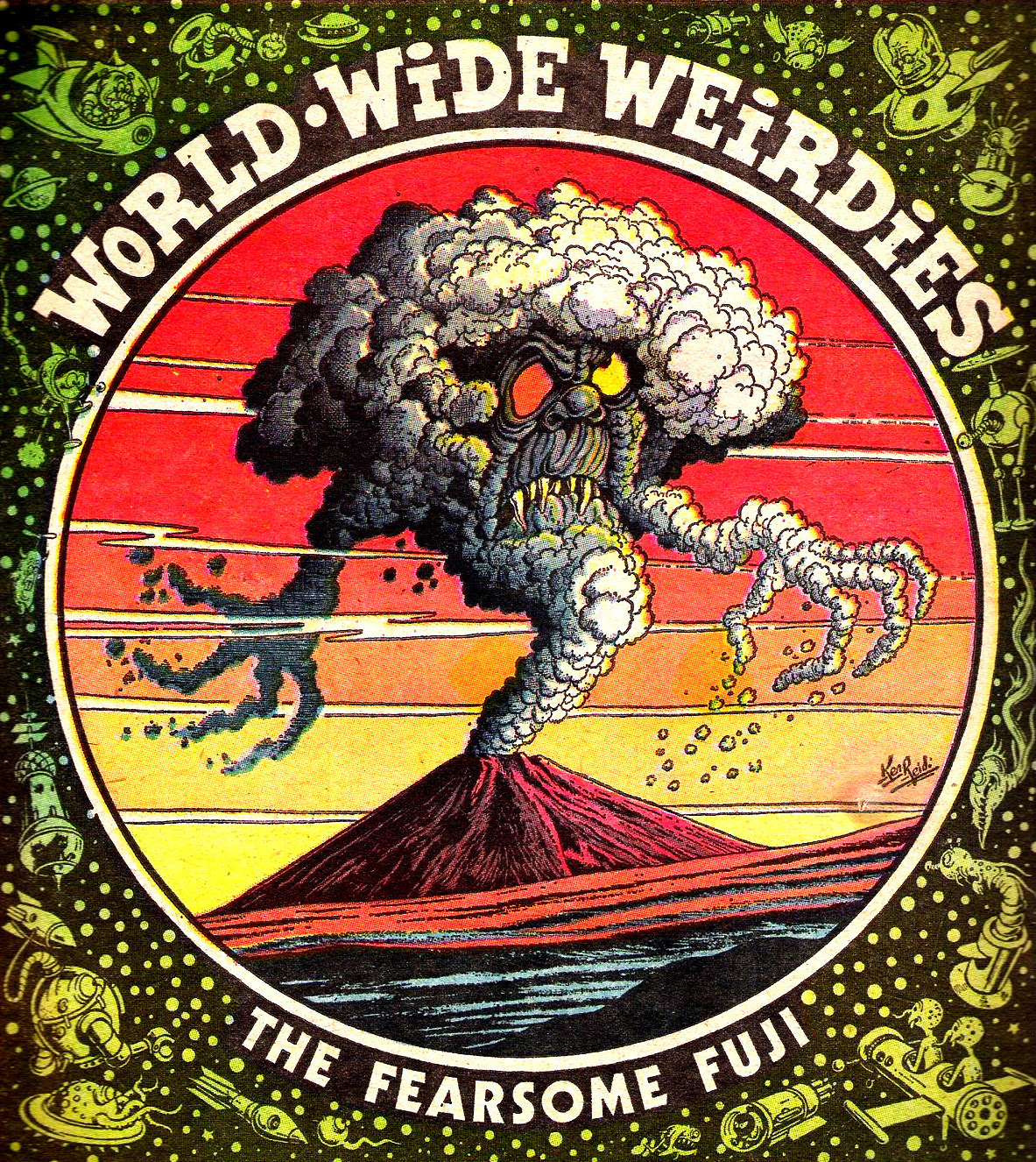 Ken Reid - World Wide Weirdies 88