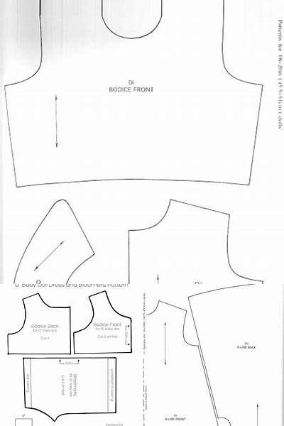 Free Printable Doll Clothes Patterns Wellie Wishers - Bing