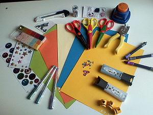 Español: Herramientas para hacer Scrapbooking ...