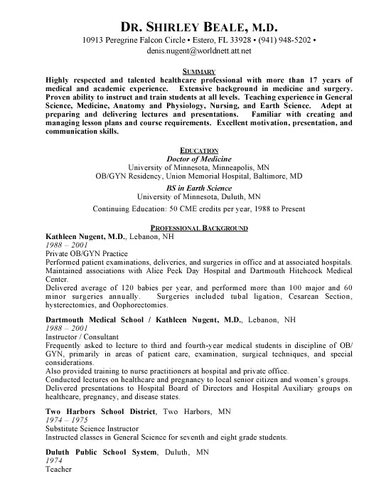 Md phd candidate resume
