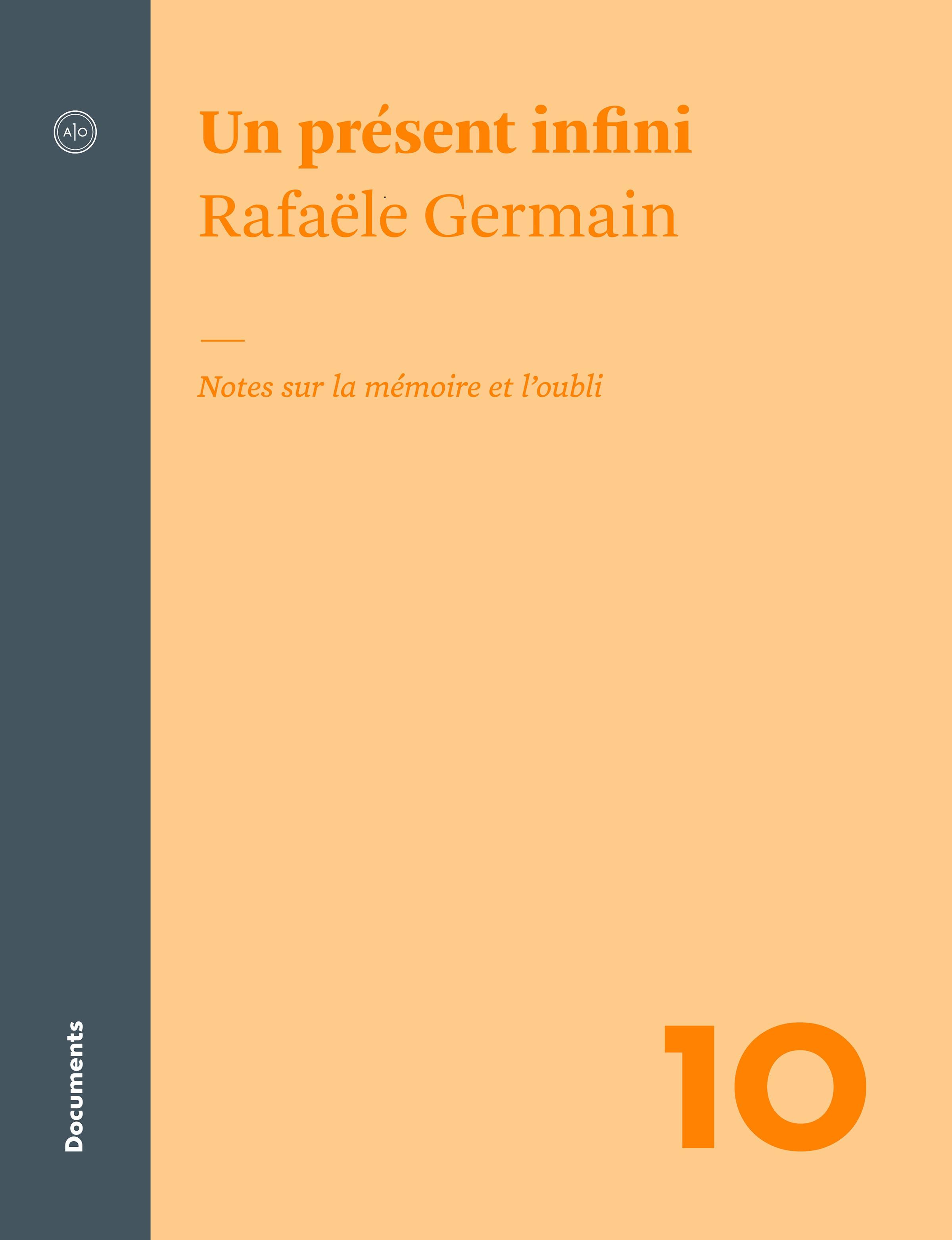 Un présent infini par Rafaële Germain | Essais | Sciences ...