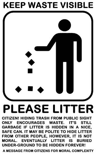 please litter